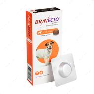 Таблетки Бравекто от блох и клещей для собак 4.5 - 10 кг Bravecto