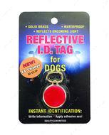 Tag брелок светоотражающий для адреса на ошейник для собак -