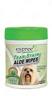 Салфетки для безопасного и эффективного очищения загрязнений под глазами Tear Stain Wipes