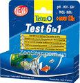 Test 6 in1 полоски для проверки 6 важных параметров качества воды
