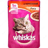"""""""Телятина в соусе"""" Консервированный корм для взрослых кошек"""