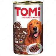 ТОМИ 5 ВИДОВ МЯСА консервы для собак 5 kinds of meat