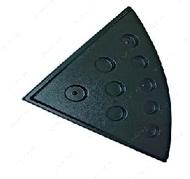 Треугольный поддон 89х89 см под овальный аквариум