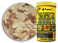 Tropical - корм для всеядных и плотоядных рыб в хлопьях
