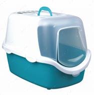 Туалет бокс закрытый с поднимающейся крышкой Vico Open Top Litter Tray, with Hood