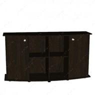 Тумба прямоугольная с дверцами, 150х50х80 см, Венге