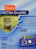 Ошейник для кошек и котят от блох и клещей на 7 месяцев Ultra Guard Flea&Tick Collar for Cats and Kittens, purple