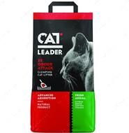 Ультра-комкующийся наполнитель в кошачий туалет Cat Leader Clumping 2xOdour Attack Fresh
