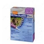 Капли от блох, яиц блох, клещей и комаров для собак весом от 14 кг до 27 кг Ultra Guard Plus Flea&Tick Drops for Dogs and Puppies 4 в 1