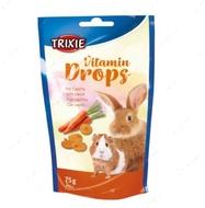 Дропсы с морковью для грызунов Vitamin Drops with Carrot