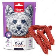 Лакомство для собак сосиски с уткой Wanpy Duck Sausages
