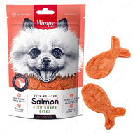 Лакомство для собак кусочки лосося Wanpy Salmon Fish Shape Bites