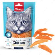Лакомства для котов вяленое куриное филе Wanpy Soft Chicken Jerky Strips