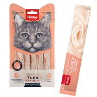 Лакомства для котов паста в стиках - тунец с лососем Creamy Lickable Treats Tuna & Salmon