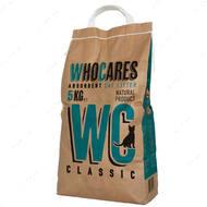 """WhoCares Classic"" впитывающий наполнитель в кошачий туалет, без запаха"