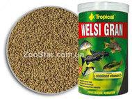Welsi Gran - корм в гранулах для сомиков и других донных рыб