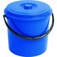 Ведро пластиковое универсальное с крышкой 12 литров