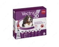 ВЕКТРА 3D капли от блох и клещей для собак и щенков от 40-65 кг VECTRA 3D Ceva
