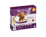 ВЕКТРА 3D капли от блох и клещей для собак и щенков от 1.5 - 4 кг VECTRA 3D Ceva