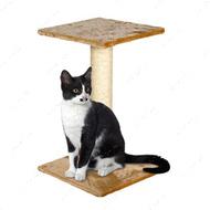 """WILMA BEIGE"" Вильма Беж когтеточка для кошек с платформой"