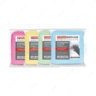 Вискозные салфетки для уборки, разноцветные 30х38 см, 10 штук