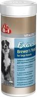 Витамины с пивными дрожжами и чесноком здоровье кожи и шерсти  для крупных собак Excel BREWER'S YEAST for Large Breed