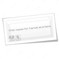Влажная салфетка для рук и лица, увеличенная, в индивидуальной упаковке
