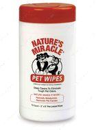 """Влажные очищающие салфетки, для собак и кошек """"Pet Bath Wipes"""""""