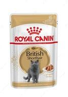 Влажный корм для кошек породы британская короткошерстная British Shorthair Adult