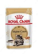 Консервы для кошек породы мейн-кун Mainecoon adult