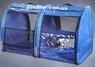 Выставочная палатка для кошек, собак Модуль Двойка Голубая