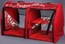 Выставочная палатка для кошек, собак Модуль Двойка Красная