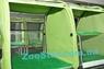 Выставочная палатка для кошек, собак Модуль Двойка Салатовая