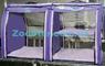Выставочная палатка для кошек, собак Модуль Двойка Сиреневая