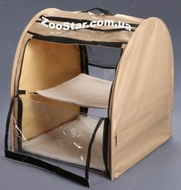 Выставочная палатка для кошек, собак Модуль Единица Бежевая