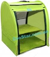 Выставочная палатка для кошек, собак Модуль Единица Cалатовая