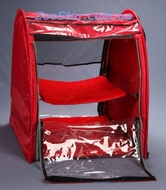 Выставочная палатка для кошек, собак Модуль Единица Красная