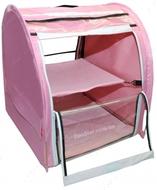 Выставочная палатка для кошек, собак Модуль Единица Розовая