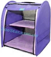 Выставочная палатка для кошек, собак Модуль Единица Сиреневая