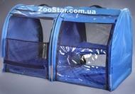 Выставочная палатка для кошек, собак Стандарт Двойка Голубая