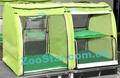 Выставочная палатка для кошек, собак Стандарт Двойка Салатовая
