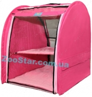 Выставочная палатка для кошек, собак Стандарт Единица Малиновая