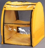 Выставочная палатка для кошек, собак Стандарт Единица Желтая
