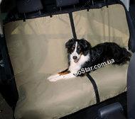 Защитная автоподстилка для собак на заднее сидение