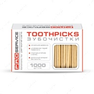 Зубочистки, 1000 штук