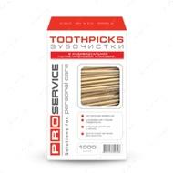 Зубочистки в полипропиленовой оболочке, 1000 шт.